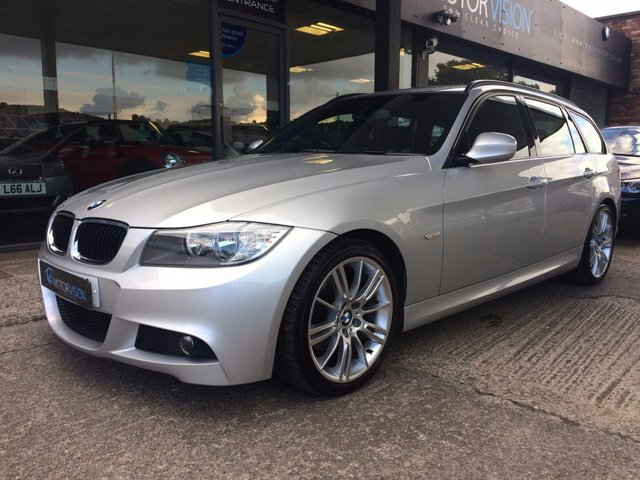 2012 12 BMW 3 SERIES 2.0 318D M SPORT TOURING 5d 141 BHP