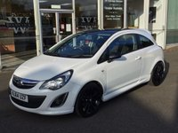 2014 VAUXHALL CORSA 1.2 LIMITED EDITION 3 DOOR £6999.00
