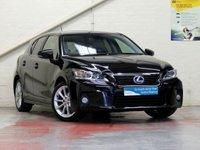 2012 LEXUS CT 1.8 200H SE-L 5d AUTO 136 BHP £10987.00