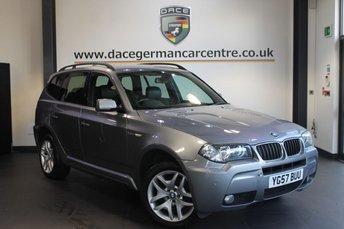 2008 BMW X3 2.0 D M SPORT 5DR DIESEL £8870.00