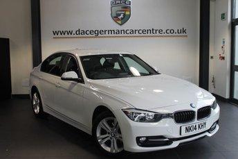 2014 BMW 3 SERIES 2.0 318D SPORT 4DR AUTO DIESEL £16970.00