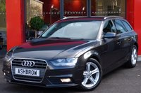 2013 AUDI A4 AVANT 2.0 TDIe SE TECHNIK 5d 163 S/S £10473.00