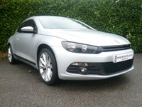 USED 2012 12 VOLKSWAGEN SCIROCCO 2.0 GT TDI BLUEMOTION TECHNOLOGY START/STOP 2d 140 BHP