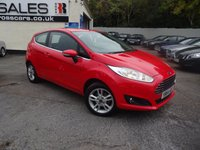 USED 2014 64 FORD FIESTA 1.2 ZETEC 3d 81 BHP NATIONALLY PRICE CHECKED DAILY