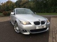 2008 BMW 5 SERIES 3.0 525D M SPORT 4d AUTO 195 BHP £8500.00