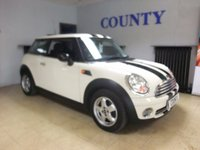 2007 MINI HATCH ONE 1.4 ONE 3d 94 BHP £4795.00