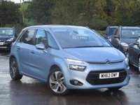 2014 CITROEN C4 PICASSO 1.6 THP EXCLUSIVE PLUS 5d 154 BHP £11995.00