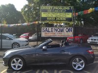 2011 MERCEDES-BENZ SLK 1.8 SLK200 BLUEEFFICIENCY EDITION 125 2d 184 BHP £14299.00