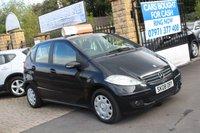 2008 MERCEDES-BENZ A CLASS 1.5 A150 CLASSIC SE 5d AUTO 94 BHP £3290.00