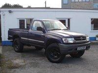 2002 TOYOTA HI-LUX 2.5 250 EX 1d  £SOLD