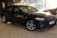 USED 2012 12 BMW 5 SERIES 2.0 520D M SPORT 4d 181 BHP SH+PRO NAV+CRUISE+HEATED LEATHER+BLUETOOTH