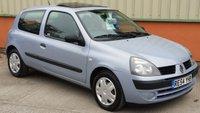 2004 RENAULT CLIO 1.4 EXPRESSION 16V 3d AUTO 98 BHP £1995.00