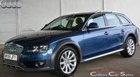 USED 2009 59 AUDI A4 ALLROAD 3.0TDi ALLROAD QUATTRO AVANT AUTO 240 BHP Finance? No deposit required and decision in minutes.