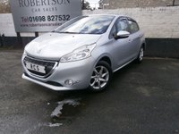 2014 PEUGEOT 208 1.4 HDI ACTIVE 5dr £5880.00