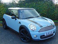 2011 MINI HATCH COOPER 1.6 COOPER 3d  £6728.00