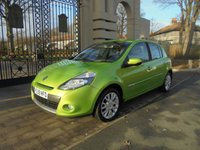 USED 2009 59 RENAULT CLIO 1.5 DYNAMIQUE DCI 5d 86 BHP FINANCE & PART EXCHANGE WELCOME