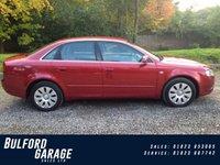 2005 AUDI A4 2.0 20V 4d 129 BHP £4275.00