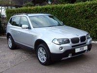 2007 BMW X3 2.0 D SE 5d 148 BHP £8000.00