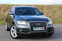 2013 AUDI Q5 2.0 TDI QUATTRO S LINE PLUS 5d AUTO 177 BHP £24950.00