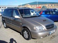2004 KIA SEDONA 2.9 LE CRDI 5d AUTO 142 BHP £2450.00