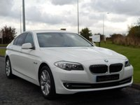 2012 BMW 5 SERIES 2.0 520D SE 4d 181 BHP £14990.00