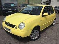 2002 VOLKSWAGEN LUPO 1.4 SPORT 3d 99 BHP £999.00