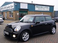 2012 MINI HATCH ONE 1.6 ONE D 3d 90 BHP £7995.00