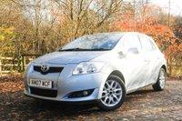 2007 TOYOTA AURIS 1.6 TR VVT-I 5d 122 BHP £2875.00