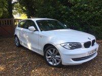 2009 BMW 1 SERIES 2.0 116D SPORT 3d 114 BHP £6989.00