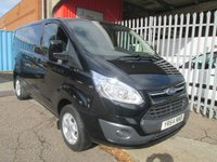 2014 FORD TRANSIT CUSTOM 270 LIMITED L1 SWB 125PS *AIR CON*LOW MILES* £13995.00