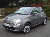 2013 FIAT 500 1.2 LOUNGE 3d 69 BHP- JUST 10,000 MILES!- £6795.00