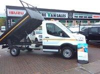 2015 FORD TRANSIT 2.2 350 TIPPER 125 BHP NEW SHAPE CHOICE  £16795.00