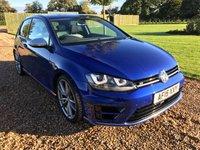 2015 VOLKSWAGEN GOLF 2.0 R DSG 3d AUTO 298 BHP £25000.00