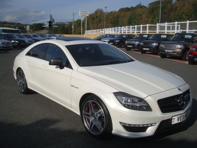 2011 11 MERCEDES-BENZ CLS CLASS 5.5 CLS63 AMG PERFORMANCE PACK AUTO 549 BHP