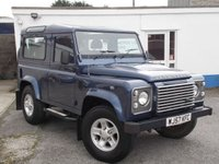 2007 LAND ROVER DEFENDER 2.4 90 XS STATION WAGON 3d 122 BHP £18995.00