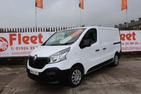 2015 RENAULT TRAFIC 1.6 SL27 BUSINESS DCI S/R P/V 1d 90 BHP £10950.00