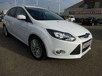 2012 FORD FOCUS 1.6 ZETEC TDCI 5d 113 BHP £7495.00