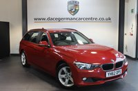 USED 2013 62 BMW 3 SERIES 3.0 330D SE TOURING 5DR AUTO 255 BHP + FULL BMW SERVICE HISTORY + 1 OWNER FROM NEW + PRO SATELLITE NAVIGATION + 17 INCH ALLOY WHEELS +