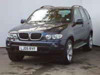 2005 BMW X5 3.0 D SPORT 5d AUTO 215 BHP £6899.00