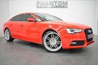 2012 AUDI A5 3.0 SPORTBACK TDI QUATTRO S LINE 5d AUTO 245 BHP £21790.00