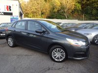USED 2013 63 CITROEN C4 1.6 HDI VTR 5d 91 BHP NATIONALLY PRICE CHECKED DAILY