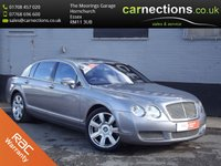 2005 BENTLEY CONTINENTAL FLYING SPUR 6.0 FLYING SPUR 5 SEATS 4d AUTO 550 BHP £34995.00