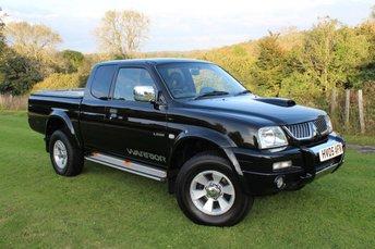 2005 MITSUBISHI L200 2.5 4WD LWB GLS WARRIOR CLUB CAB 1d 114 BHP £5495.00