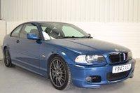 2001 BMW 3 SERIES 3.0 330CI SPORT 2d 228 BHP £1490.00