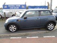 2011 MINI HATCH FIRST 1.6 FIRST 3d 75 BHP £5895.00