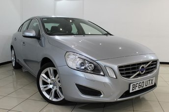 2011 VOLVO S60 2.0 D3 SE LUX 4DR AUTOMATIC 161 BHP £9970.00