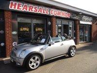 2006 MINI CONVERTIBLE 1.6 COOPER S 2d 168 BHP £4995.00