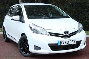 2013 TOYOTA YARIS 1.3 VVT-I TR 5d 98 BHP £6389.00