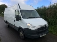 2012 IVECO-FORD DAILY 2.3 35S11V 1d 106 BHP £5995.00