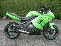 2009 KAWASAKI ER 6F  650 A8F  £3295.00
